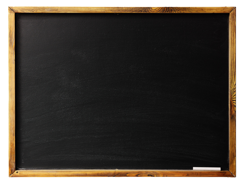 Frame Wood Blackboard